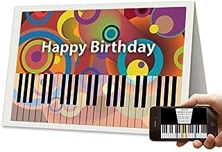Unique AR Augmented Reality Tech Happy Birthday Cards, Birth
