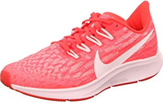 Nike Air Zoom Pegasus 36 Women's Road Running Shoes, Multicolour (Laser Crimson/White-Platinum Tint)