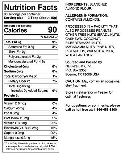 Nature's Eats Almond Flour, 48 Ounce