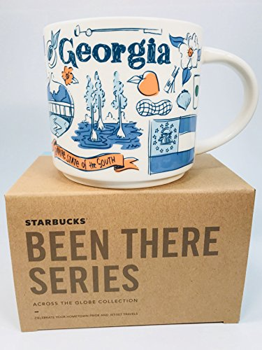 Starbucks Georgia Mug Been There Series Across the Globe Collection