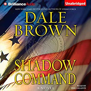 Shadow Command audiobook cover art