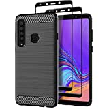Teayoha Case for Samsung Galaxy A9 2018, with Tempered