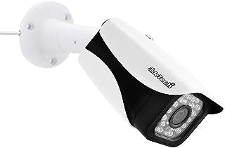 Cámara POE IP cámara de seguridad HD 1080P soporte 65ft visión nocturna y detección de movimiento IP66 impermeable H.265 Onvif vigilancia bala para interiores y exteriores
