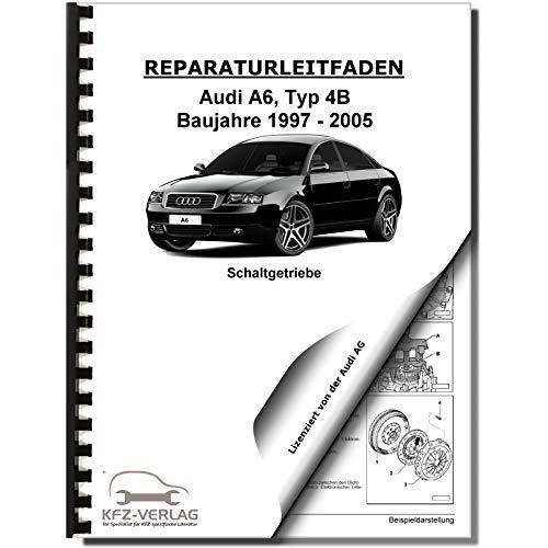 Audi A6 Typ 4B 1997-2005 6 Gang Schaltgetriebe 01E Kupplung Reparaturanleitung