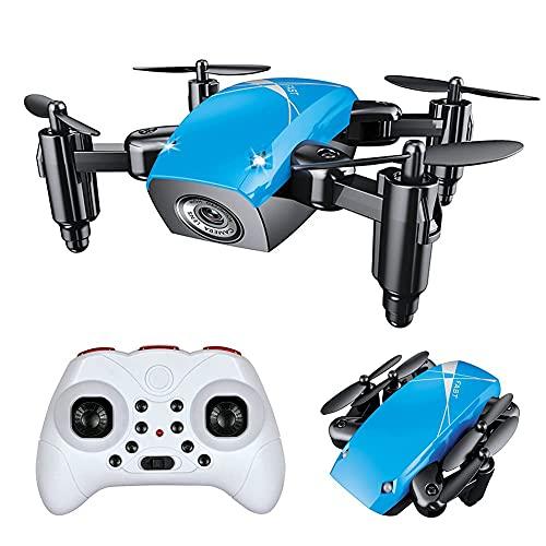 JJDSN Drone Optical Flow Positioning RC Quadcopter con cámara HD, Modo sin Cabeza de retención de altitud, Drones FPV Plegables WiFi Video en Vivo, Volteretas 3D, para niños, Adultos y principiant