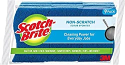 Cleaning power for everyday jobs Safe on non-stick cookware, countertops, showers and tubs Scrubbing fibers made from 100% recycled content Selling scrub sponge brand Long-lasting and durable