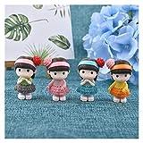 DZSW Rhldzswb Arte de la Resina de la Miniatura Bonsai decoración Estatua Planta Artificial (Color : 02)