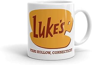 Luke's Diner Gilmore - Taza de cerámica para niñas, color blanco, 325 ml