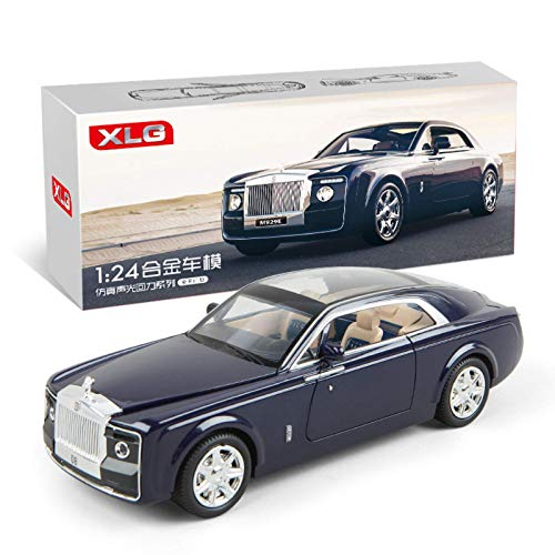 None/Brand 1:24 Rolls Royce Car Model Metal Model Car Alloy Die-Casting Car Children's Toy Gift Collectibles