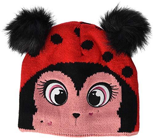 Regatta Animally Hat III Acrylic Knit with Novellty Animal Faces Accesorio para la Cabeza, Infantil, Rojo (Lollipop), 1-3