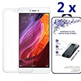Xiaomi Redmi Note 4X / Xiaomi Note 4 Screen Protector [2 Pack] - Nacodex Tempered Glass Screen Protector (Don't fit with Xiaomi Redmi 4)