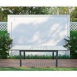 Home Deluxe - Gartentisch ausziehbar - Casa - ca. 160(240) x100x74 cm - inkl. Zubehör