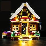 Set di Luci per (Friends Chalet del Villaggio Invernale) Modello da Costruire - Kit Luce LED Compatibile con Lego 41323 - Non Incluso nel Modello