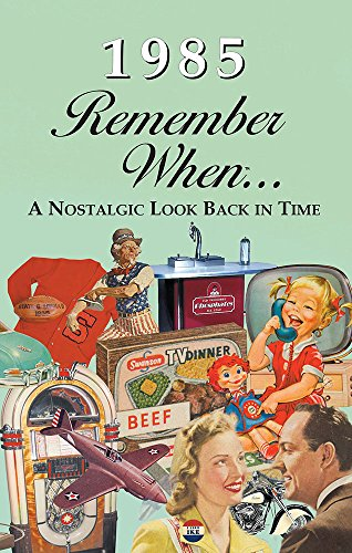 1985 REMEMBER WHEN CELEBRATION KARDLET: 35th Gift - Birthdays, Anniversaries, Reunions, Homecomings, Client & Corporate Gifts