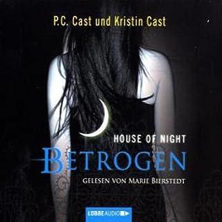 Betrogen     House of Night 2              Autor:                                                                                                                                 P. C. Cast,                                                                                        Kristin Cast                               Sprecher:                                                                                                                                 Marie Bierstedt                      Spieldauer: 5 Std. und 9 Min.     414 Bewertungen     Gesamt 4,5