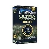 LifeStyles Ultra Sensitive Bravo, 12Count