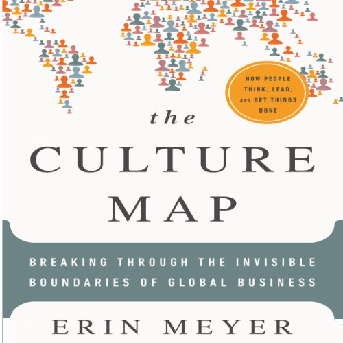 The Culture Map audiobook cover art