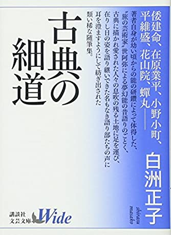 古典の細道 (講談社文芸文庫ワイド)