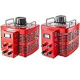 VEVOR?5000VA Trasformatore variabile 220V Convertitore 0-300 V AC Trasformatore di Tensione 50Hz Controllo Velocità Motore