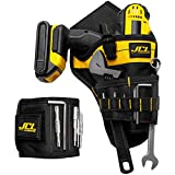 Magnetic wristband and cordless drill tool belt holster combo | Safe and convenient storage for electric drill, bits, screws and accessories | Perfect gift for Men, Tradesman and DIY enthusiast