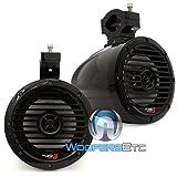 "VMC65 Gloss Black - Cerwin Vega 6.5"" 60W RMS Marine Tower Speakers"