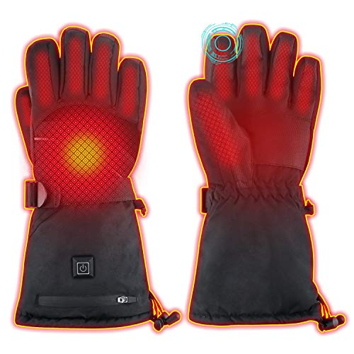 WAMTHUS Electric Heated Gloves, Warm Gloves for Men Women 3 Heating...