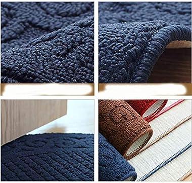 Carpet Non-Slip Door mat Foot mat Home-Entry semi-Circular Floor mats Home Non-Slip Bathroom Door mat Door mat (Color : 01, S