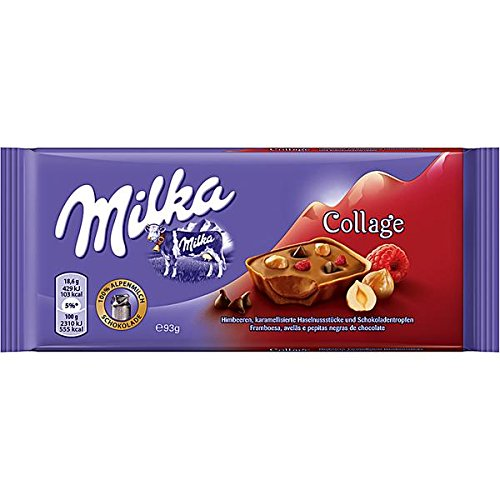 Milka Collage Himbeere Limited Edition 5 x 93g
