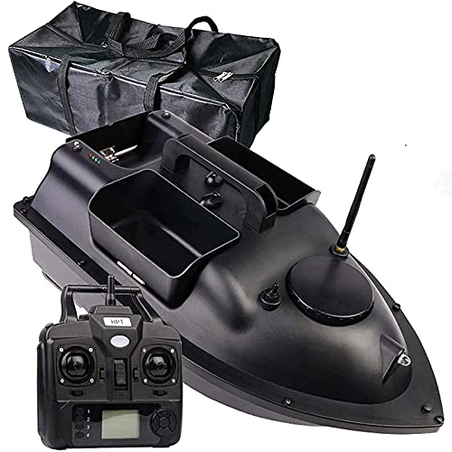 WEDSFC Barco Cebador, RC Barco Cebo Pesca con 500M Control Remoto Y GPS Postion 2 Kg De Carga Capacidad 12000Mah De Batería Regalos para Hombres,A,12000mAh