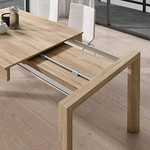 Mueble Mesa de Comedor, Mesa Moderna Extensible, mesas de Comedor ref-63