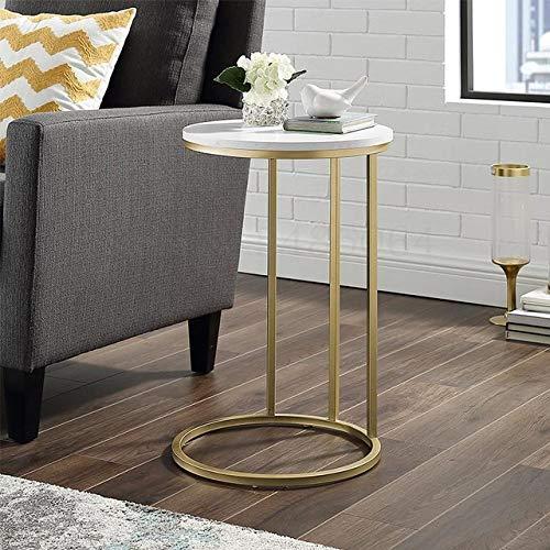 Nachtkastje LKU Lichte luxe banktafel Nordic klein appartement nachtkastje eenvoudige woonkamer salontafel ideeën, 40x61cm