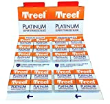 200 Cuchillas de afeitar Treet Platinum