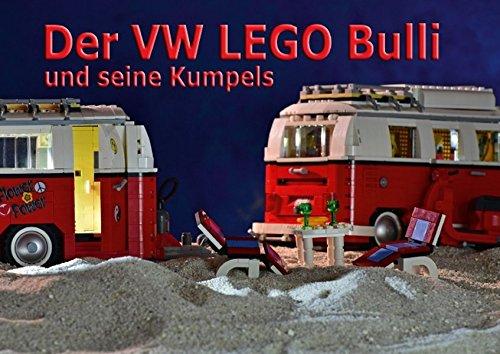 Der VW LEGO Bulli und seine Kumpels (Posterbuch DIN A3 quer): Kultige Anhänger für den legendären Bausatz von LEGO (Posterbuch, 14 Seiten )