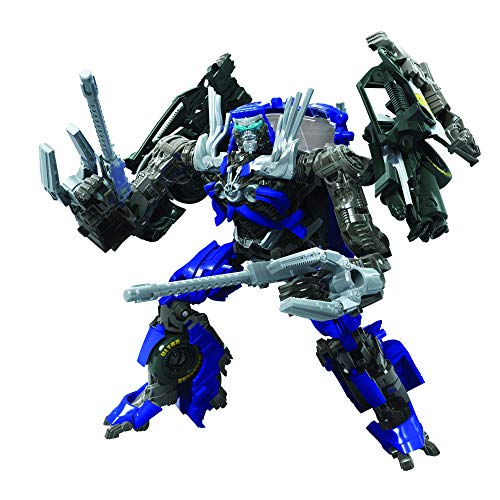Transformers Toys Studio Series 63 Deluxe Class Dark of The Moon Movie Topspin Action Figure - Kids Ages 8 and Up, 4.5-inch