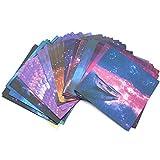 Dylan-EU 150 Hojas Papel para Papiroflexia 15 x 15 cm Papel de Origami Origami de color para Niños Cuadrado Color Doble Cara Origami Papel para Manualidades DIY Proyectos de Artes