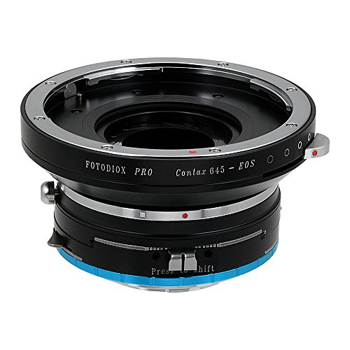 Fotodiox Pro Lens Mount Shift Adapter Contax 645 (C645) Mount Lenses to Fujifilm X-Series Mirrorless Camera Adapter - fits X-Mount Camera Bodies such as X-Pro1, X-E1, X-M1, X-A1, X-E2, X-T1