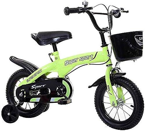 descuentos y mas YYS Bicicleta for for for Niños, Rueda de Entrenamiento de Flash for Carro de bebé, mujer y Hombre ( Color   verde , Talla   12  )  Hay más marcas de productos de alta calidad.