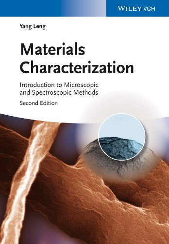Materials Characterization: Introduction to Microscopic and Spectroscopic Methods