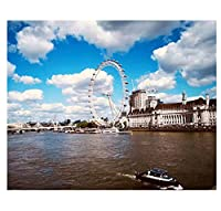 ロンドンストリートビューdiyデジタルペインティングプレスデジタルペインティングプレスデジタルキット油絵ペインティングプレスデジタルアート40 * 50(フレームなし)