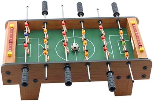 Asdflina Kombinationsspieltisch Foosball Soccer Competition Table Top Set Spielzimmer Sport mit ergonomischen Griffen Analoge Trefferanzeige und Beinplaner Rec Room Games-Ausrüstung für Kinder