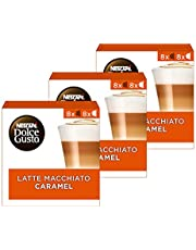 Nescafé Dolce Gusto Capsules Caramel Macchiato - 48 Stuks (3 x 16 Capsules)