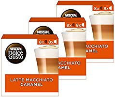 Nescafé Dolce Gusto capsules Caramel Macchiato - 48 koffiecups - geschikt voor 24 koppen koffie - Dolce Gusto cups