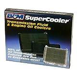 B&M 70273 SuperCooler Black Aluminum Fluid Cooler