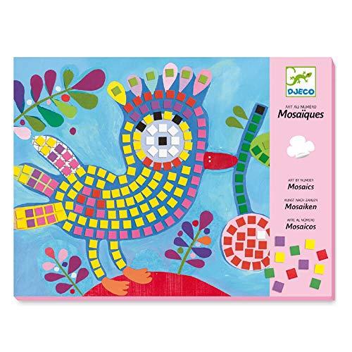 Djeco - Mosaiques Oiseau Et Coccinelle
