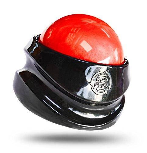 Power Roller una Bola Masajeador de Mano – Alivia los Músculos Tensos y Dolorosos (Rojo)
