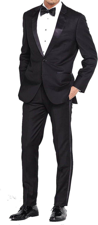 Douglas Grahame Slim Fit 2 Piece Tuxedo (2 Button Tux Jacket & Pants)