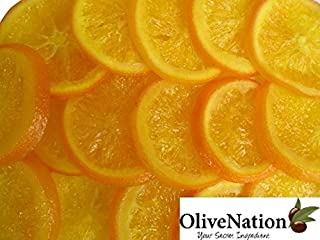 Dried Orange Slices, Glazed by OliveNation - Perfect for Chocolate Dipping and Baking Size of 8 oz