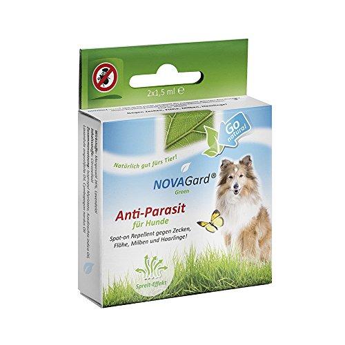 NovaGard Green Spot-on Repellent für Hunde, 2x1 Ampulle