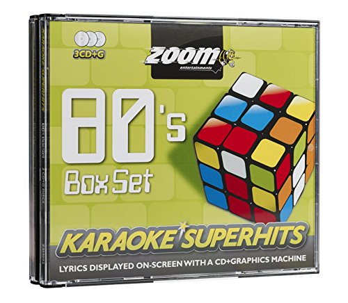 Zoom Karaoke CD+G - 80s Superhits 1 - Triple CD+G Karaoke Pack
