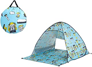 Toys Garden Tent, Teepee Foldable Castle Picnic Beach Shelter, Indoor Outdoor Play House Kids Girls Portable Gift Tent Car...